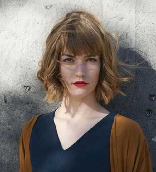 Bob Hairstyles With Bangs 2016-8