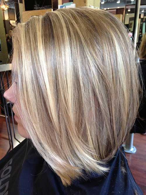 20+ Long Blonde Bob | Bob Hairstyles 2018 - Short