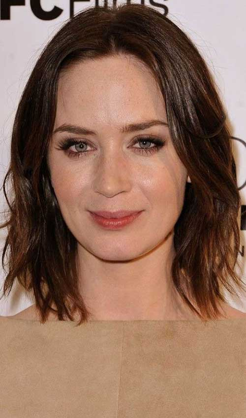 Long bob hairstyles for round face 2017 : New long bob for round faces hairstyles short
