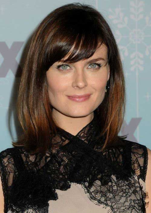 15 New Long Bob For Round Faces | Bob Hairstyles 2017 ...