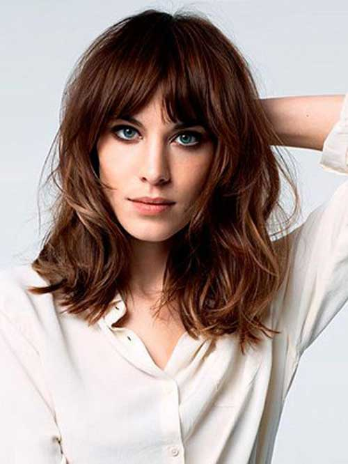 Slimming haircuts pictures of face slimming haircuts long hairstyles - 15 New Long Bob For Round Faces Bob Hairstyles 2017