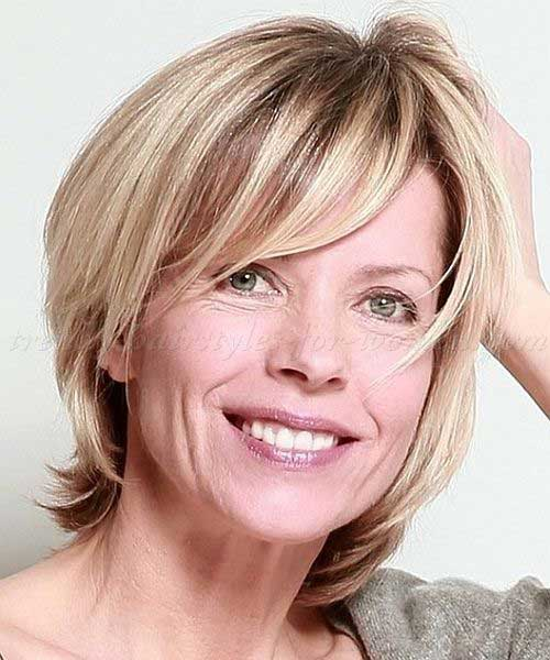 Bobs for Women Over 50