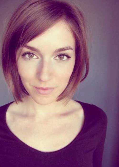 Layered Bob Cut