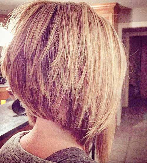 hairstyles layered bob - photo #17
