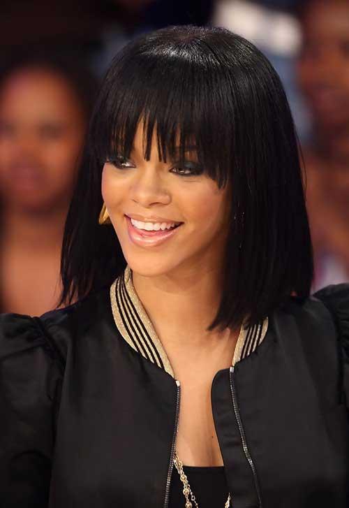 Astounding 15 Best Rihanna Bob Haircuts Bob Hairstyles 2015 Short Hairstyles For Men Maxibearus