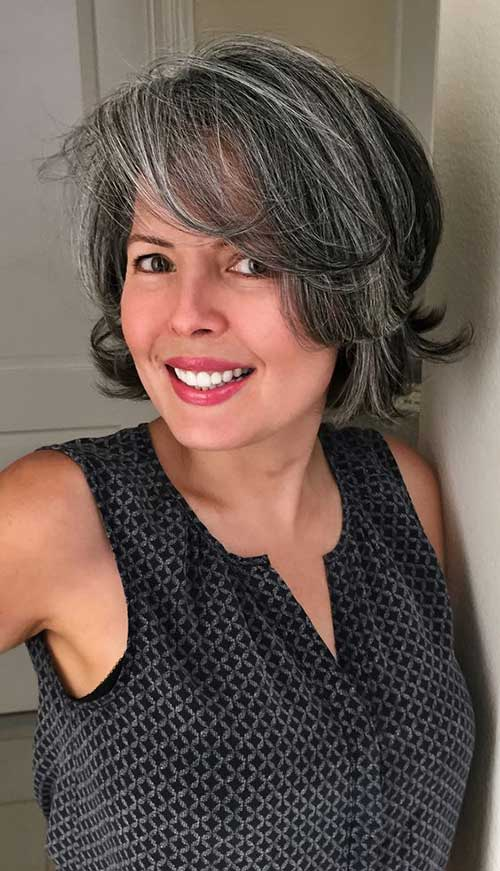 11.Bob Haircut for Women Over 50