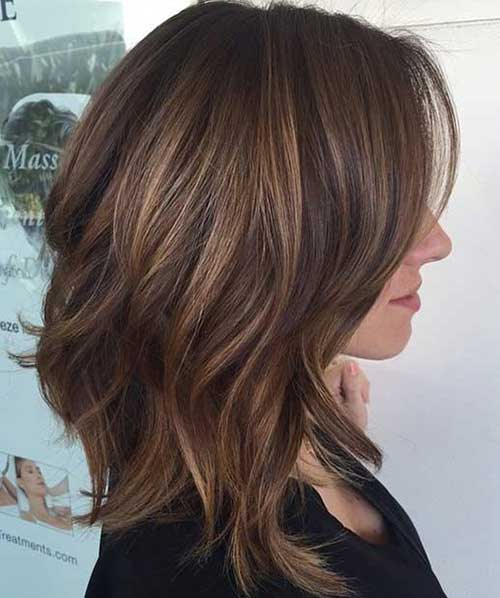 Short Layered Bob Haircuts-11