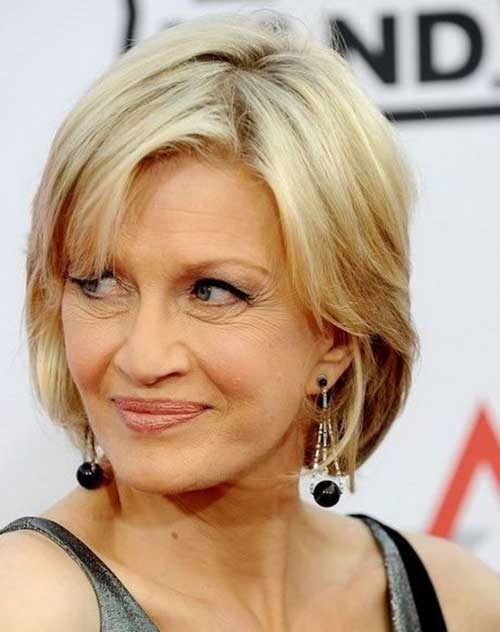 Bob Haircuts for Women Over 50-12