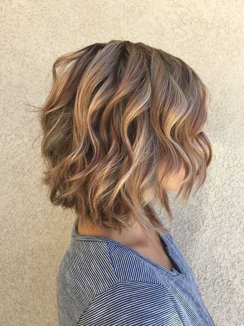 Short Layered Bob Haircuts-14