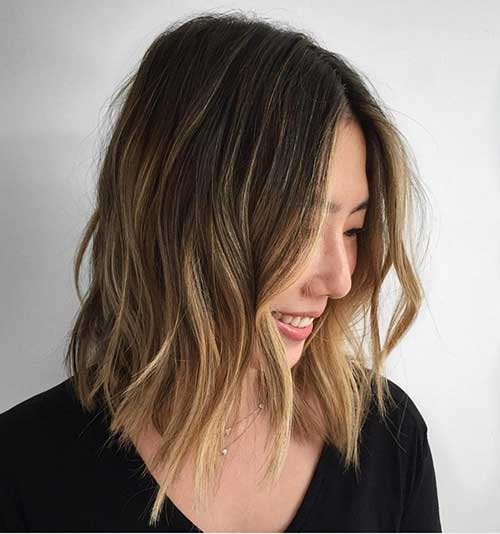 Long Bob Ombre Hair-15