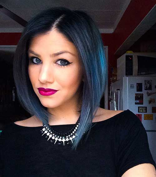 Long Bob Ombre Hair-17