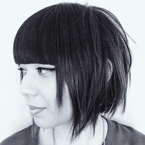 Angled Bobs With Bangs-20