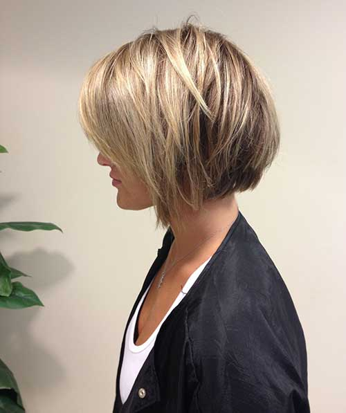 Short Bob Hairstyles With Bangs-20