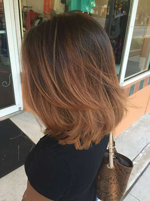 Short Layered Bob Haircuts-20