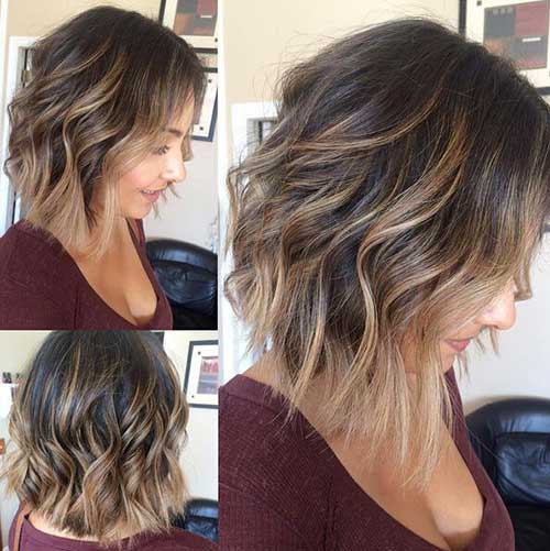 Short Layered Bob Haircuts-24
