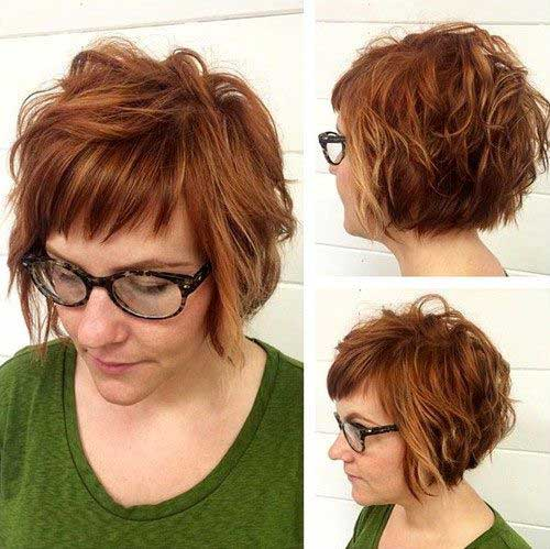 Short Bob Hairstyles With Bangs-25