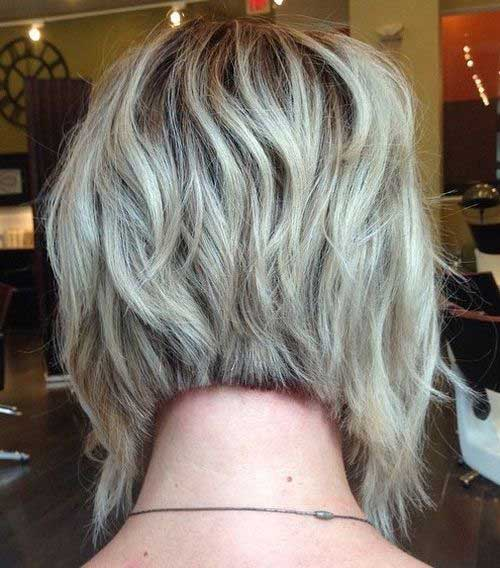 Short Layered Bob Haircuts-26