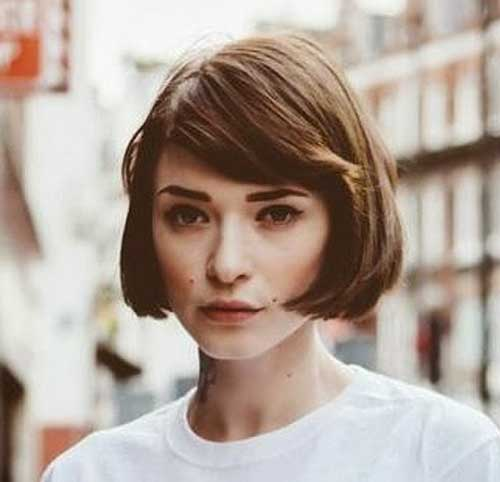 Short Bob Hairstyles With Bangs-28