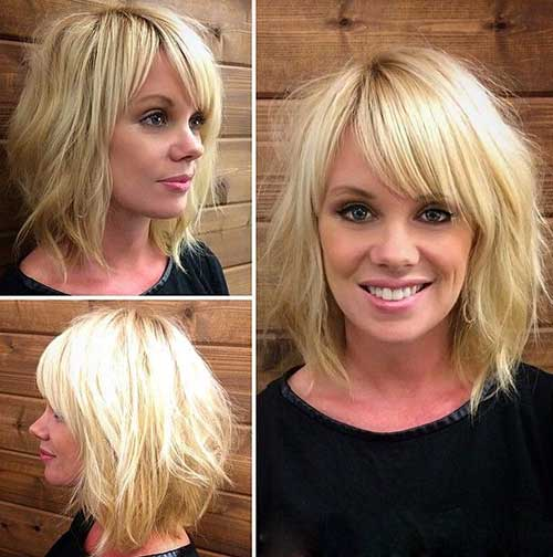 Short Bob Hairstyles With Bangs-31