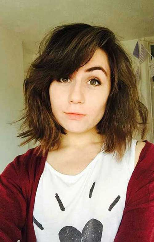 Short Bob Hairstyles With Bangs-6