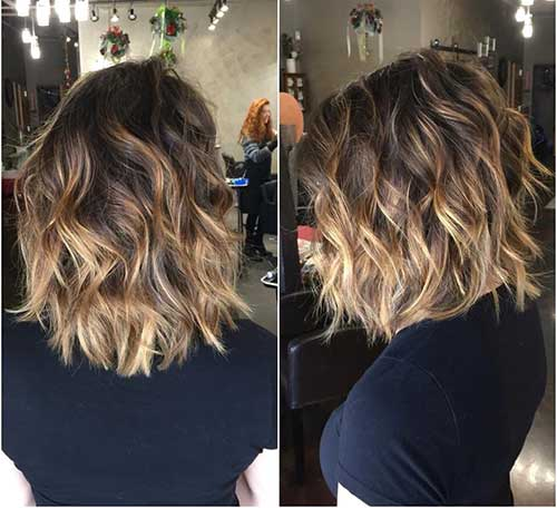 Long Bob Ombre Hair-9
