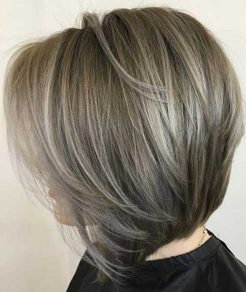 Really Stylish Bob Haircuts for Women Over 50 | Bob Hairstyles 2018 ...