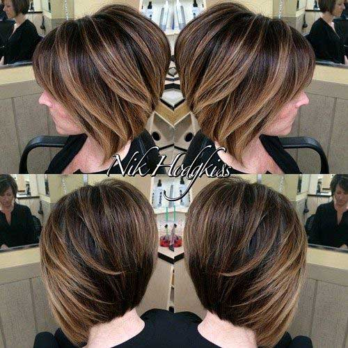 Layered Short Bob Hairstyles