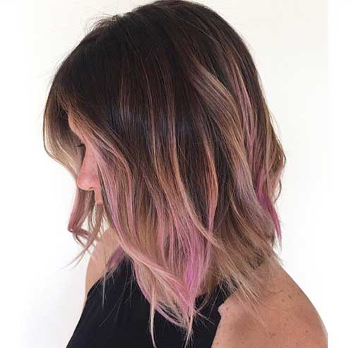 Ombre Hair Color Bob