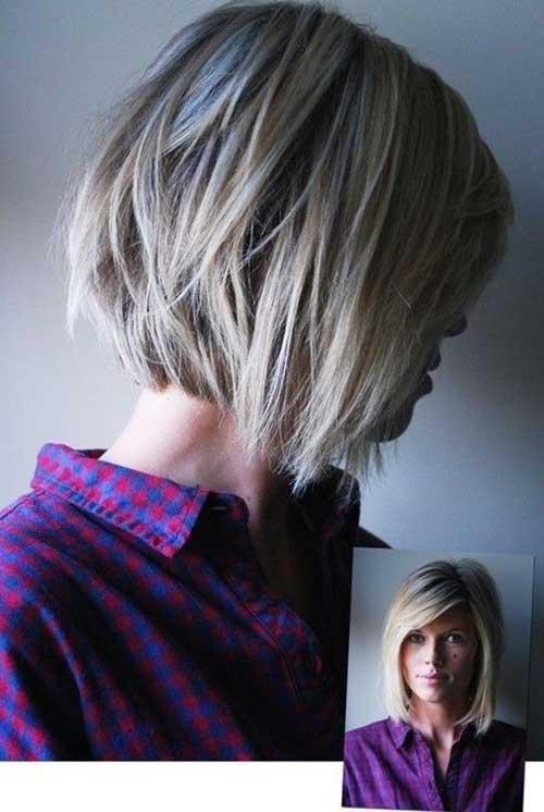 Cool 25 Latest Short Layered Bob Haircuts Bob Hairstyles 2015 Short Hairstyles Gunalazisus