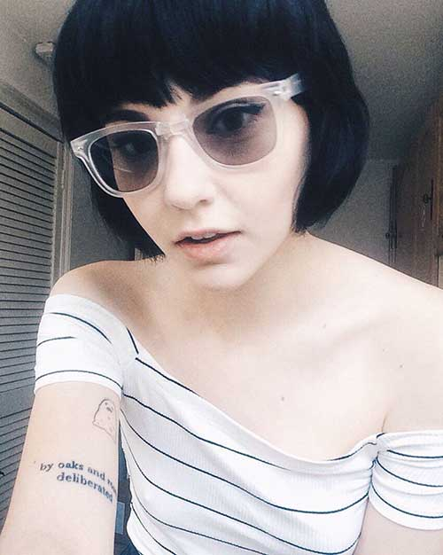 Bob Hairstyles with Bangs-10