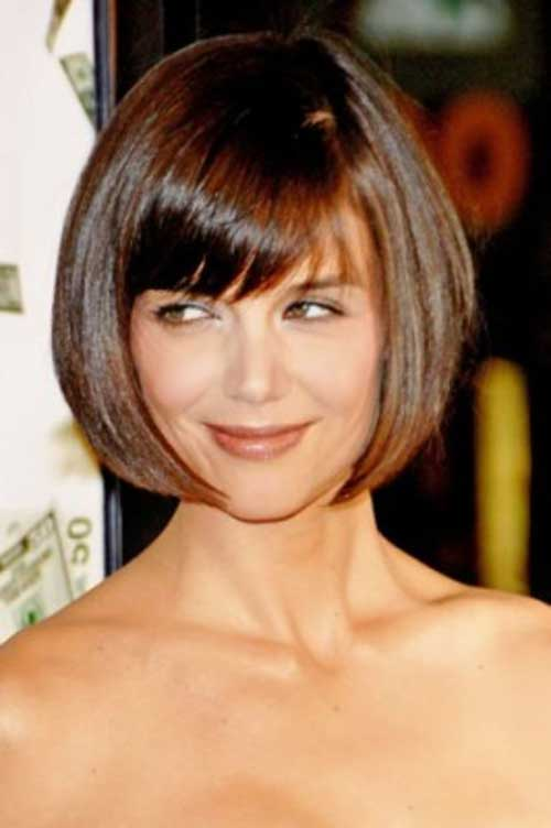15 Katie Holmes Bob With Bangs Bob Hairstyles 2018