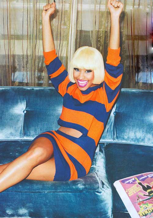 Nicki Minaj Blonde Bob-10