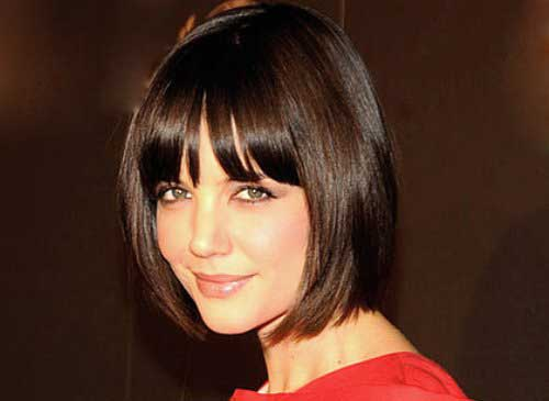 Katie Holmes Bob with Bangs-11