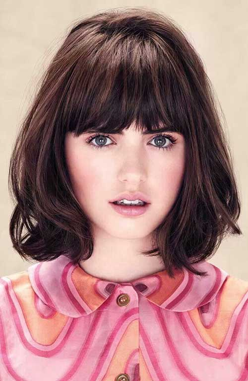 Bob Hairstyles with Bangs-12