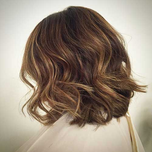 Dark Brown Bob Hairstyles-12