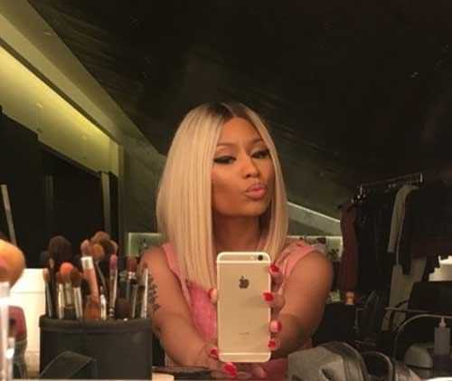 Nicki Minaj Blonde Bob-12