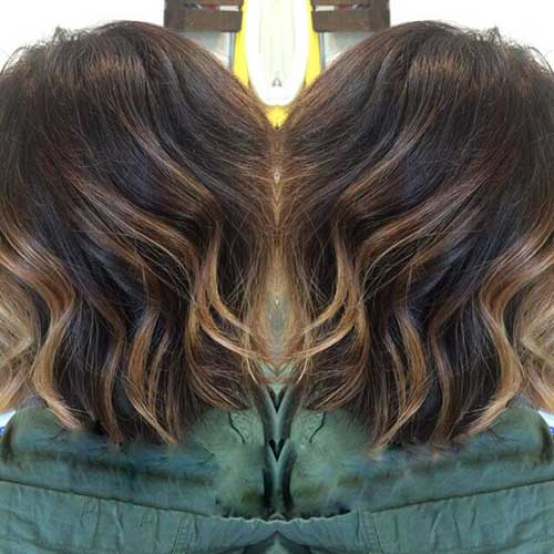 Dark Brown Bob Hairstyles-13