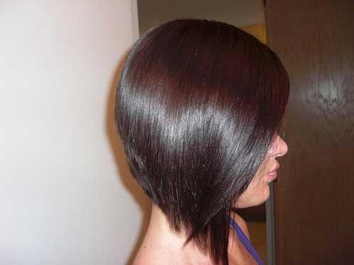 Inverted Bob Hair Styles: Bob Hairstyles 2018 - Short