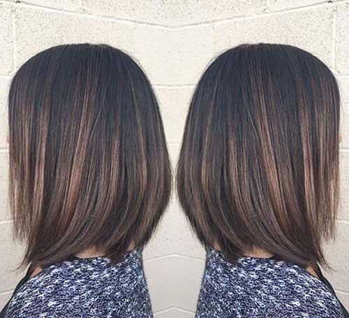 Brunette Bob Hairstyles-14
