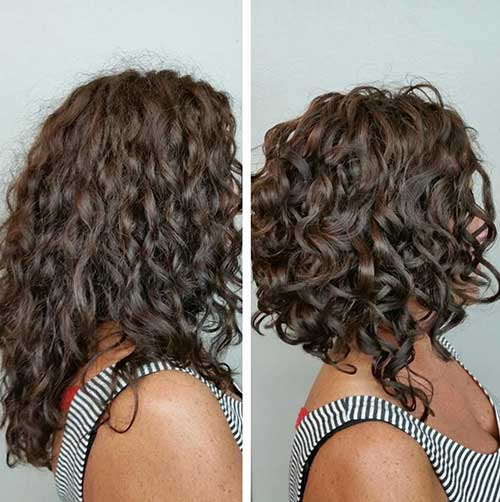 Pleasing 25 Latest Bob Haircuts For Curly Hair Bob Hairstyles 2015 Hairstyles For Men Maxibearus