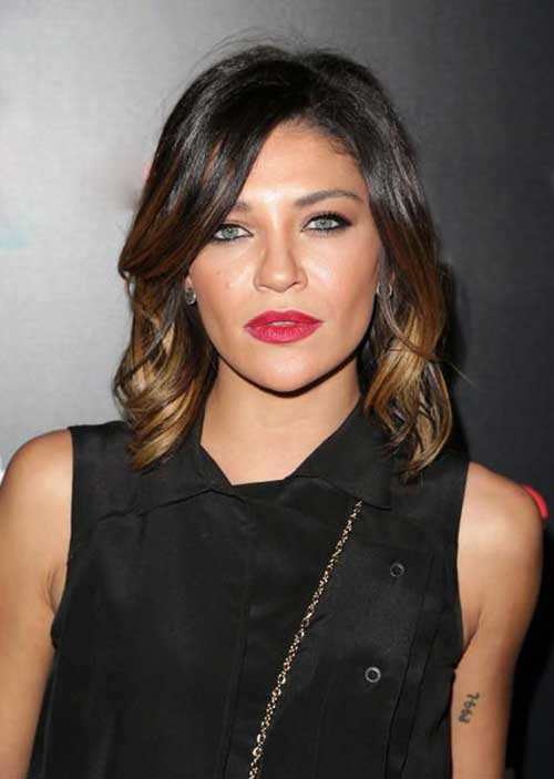 Dark Brown Bob Hairstyles-17