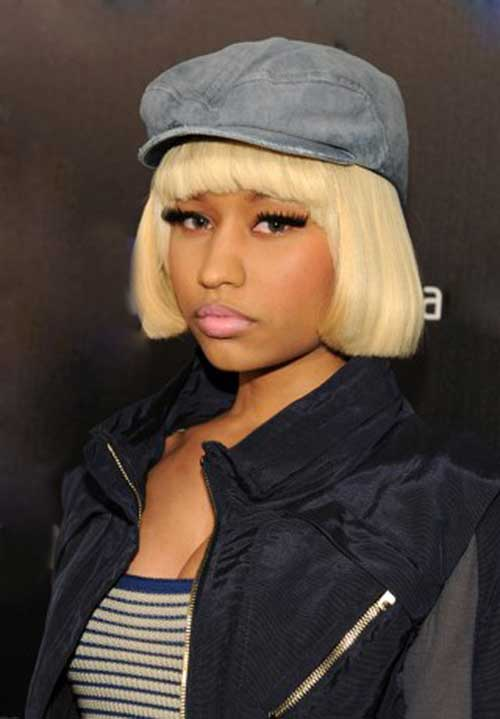 Nicki Minaj Blonde Bob-17