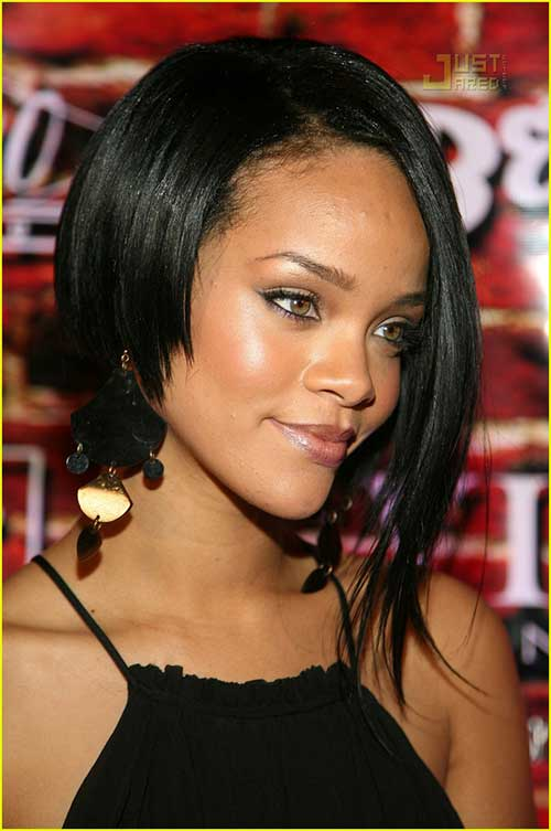 Rihanna Bob Haircut-17