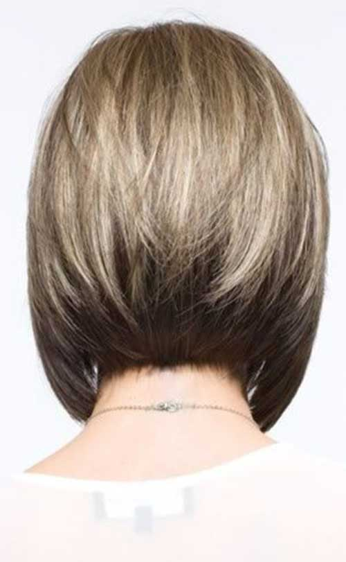 Inverted bob hairstyle back hairstylegalleries com