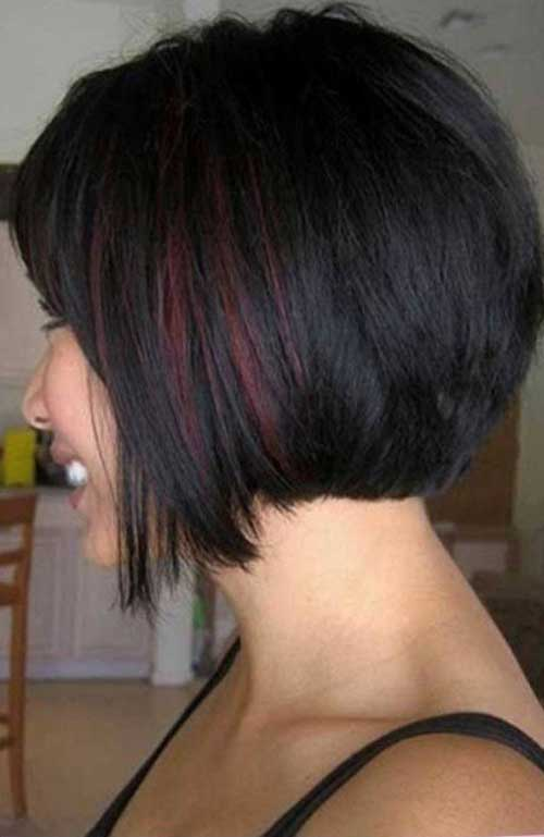 Super 30 Best Inverted Bob With Bangs Bob Hairstyles 2015 Short Hairstyles For Women Draintrainus