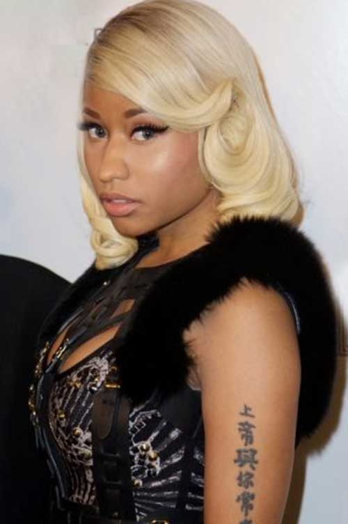 Nicki Minaj Blonde Bob-20