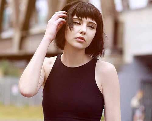 2017 Bob Hairstyles with Bangs