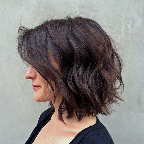 Brunette Bob Hairstyles-21