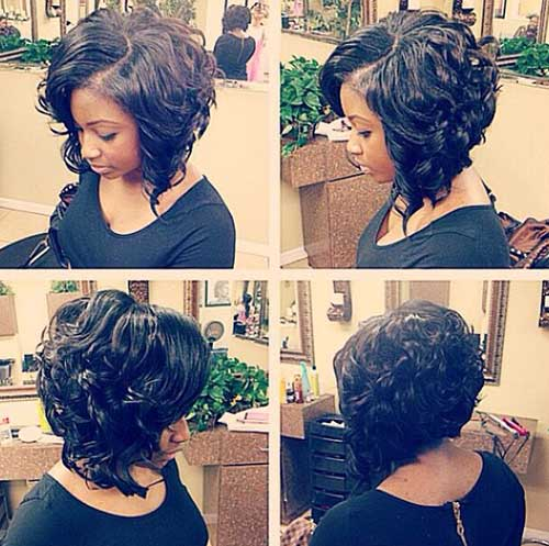 Terrific How To Quick Weave Short Curly Hair Short Curly Hair Short Hairstyles For Black Women Fulllsitofus
