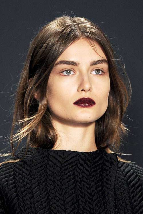 Dark Brown Bob Hairstyles-24